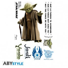 STAR WARS - Adesivi - scala 1 - YODA (blister)