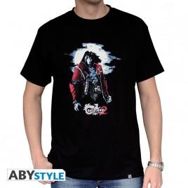 "CASTLEVANIA - Tshirt ""Dracula"" uomo SS nero - basic"