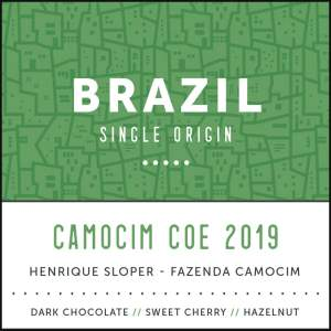 Brazil Camocim Single Estate Arabica Coffee Subscription