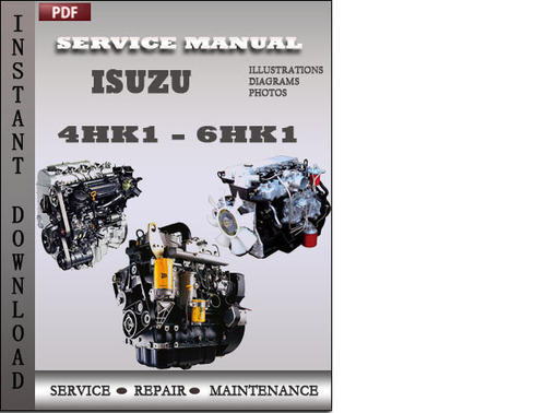 6HK1 Troubleshooting Manual