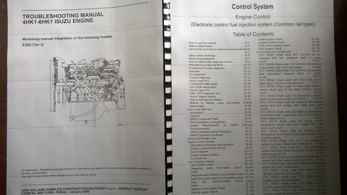 ISUZU 4HK1 -6HK1 ENGINE ELECTRICAL TROUBLESHOOTING Manual