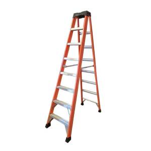 Tradecraft 8′ Fiberglass Step Ladder Grade IA 300lbs