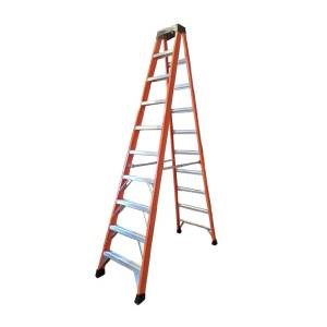 Tradecraft 10′ Fiberglass Step Ladder Grade IA 300lbs