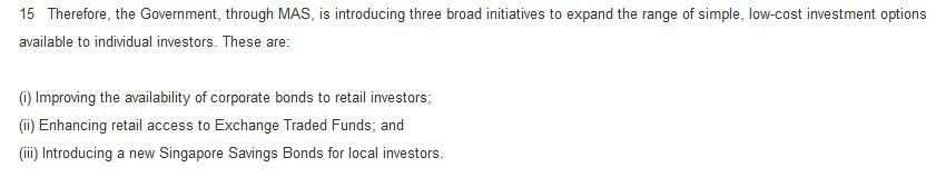 retail bonds initiative
