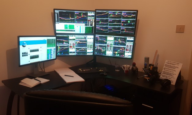 What I see on each of my 5 monitors