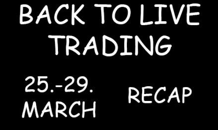 25 – 29 week of March 2019 Recap