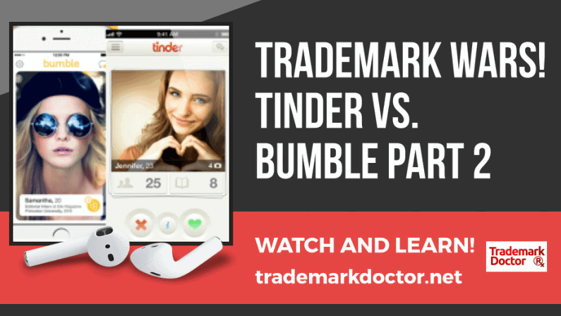 Trademark Wars: Tinder vs Bumble, Part 2 Trade Dress Infringement