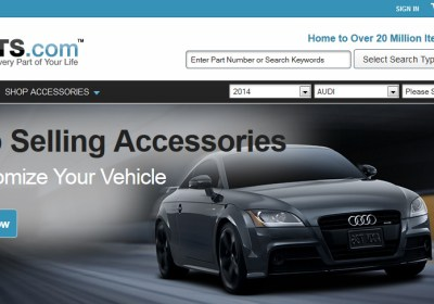 parts.com audi-on-home-page-2014-June-14