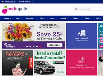 perkopolis.com home page