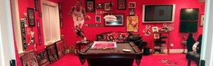 Winning Fan Cave from 2012 Wolfpack FanCave Challenge