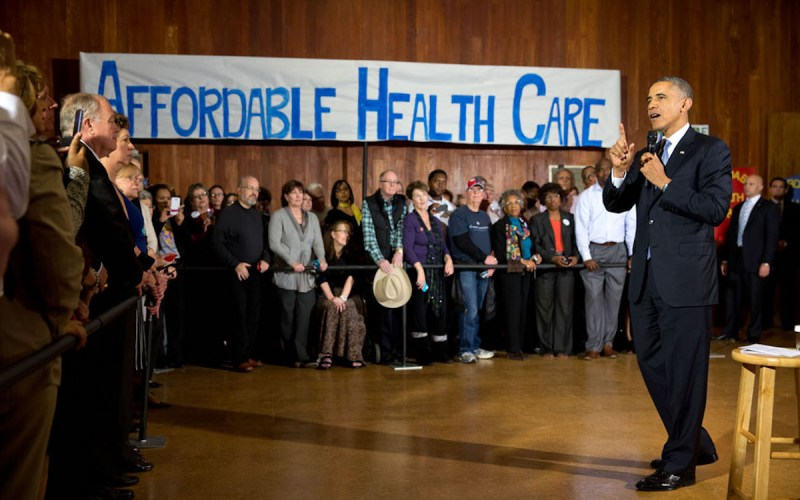 President Obama at ACA event