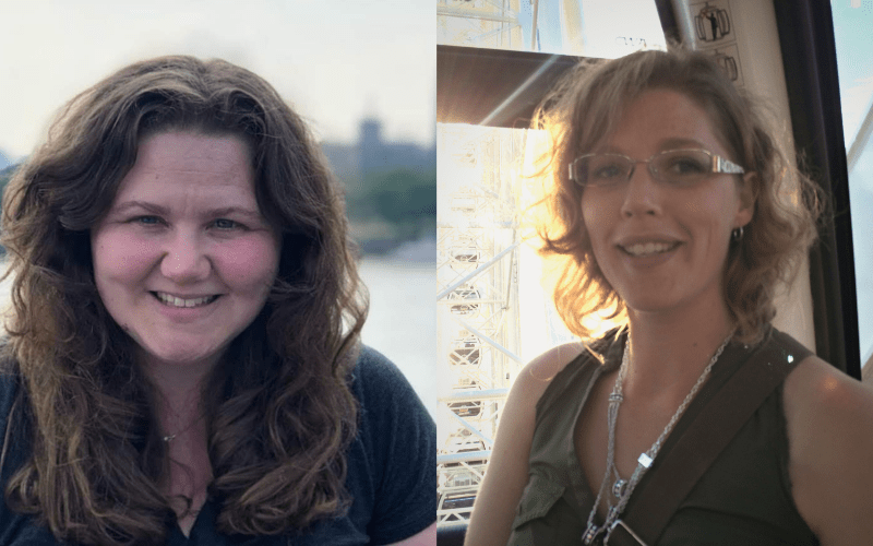 A composite photo of Nicole Snyder (left) and Jennifer Miller (right)