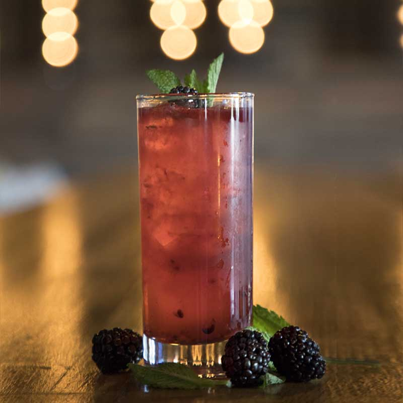 SoHo Social Restaurant Berry Drink