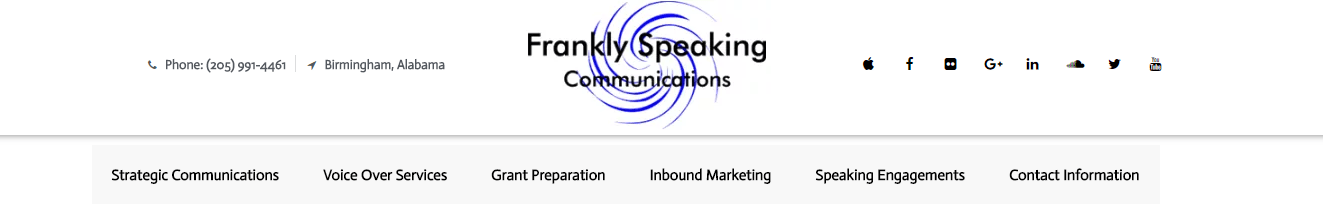 Frankly Speaking Communications, Birmingham Alabama