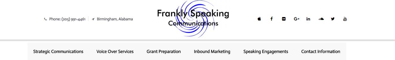 Frankly Speaking Communications, Birmingham Alabama