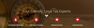 SAS Tax and Accounting Website in Pelham Alabama