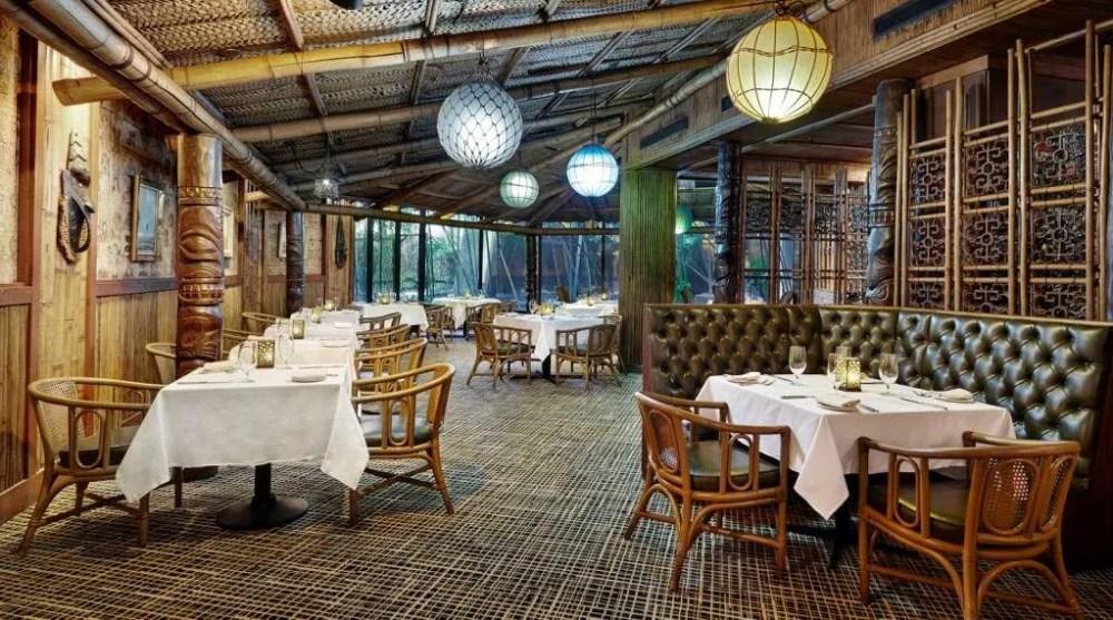 Trader Vic's Dining Room