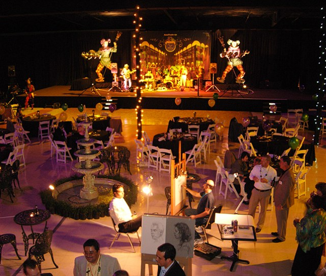Trade Show Booths Company Western Trade Show Booth Saveenlarge  C B Mardi Gras Party Ideas  Easy Masquerade Themed