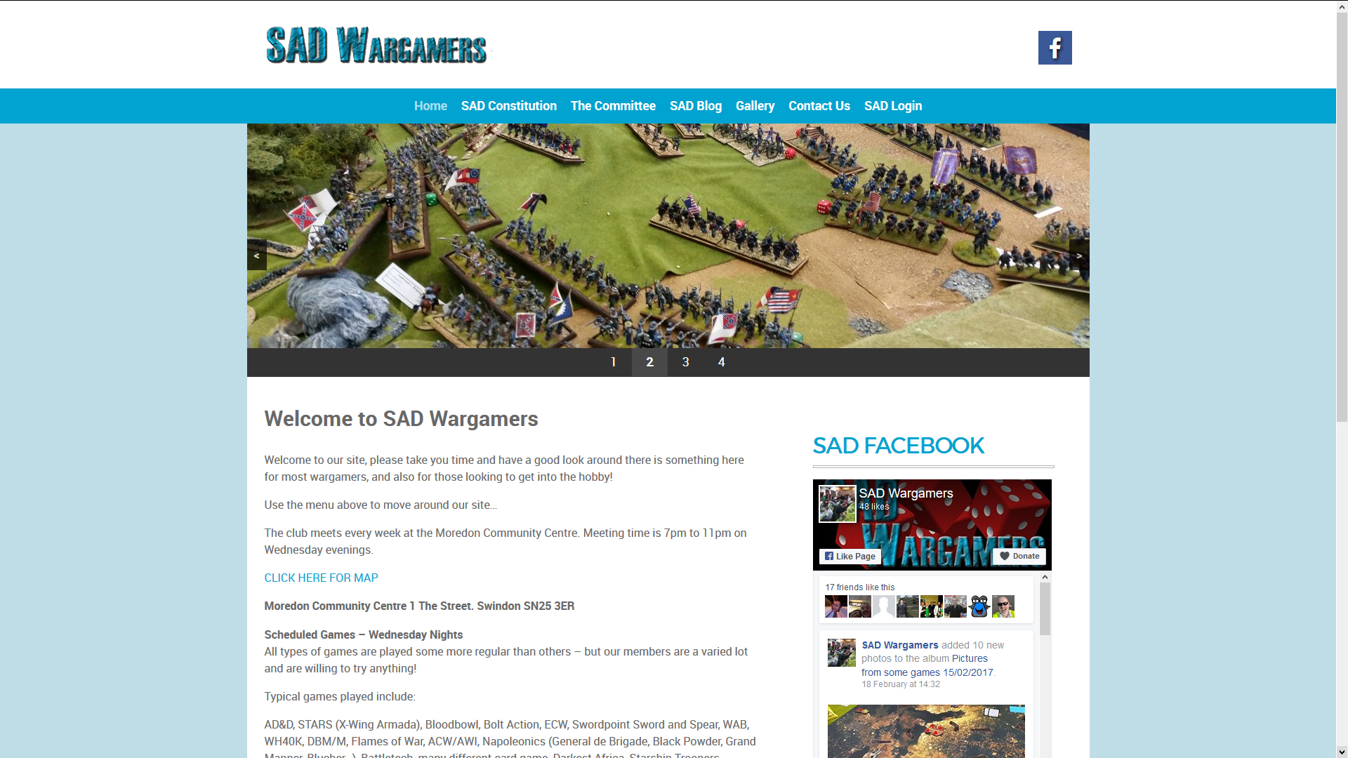 SAD Wargamers