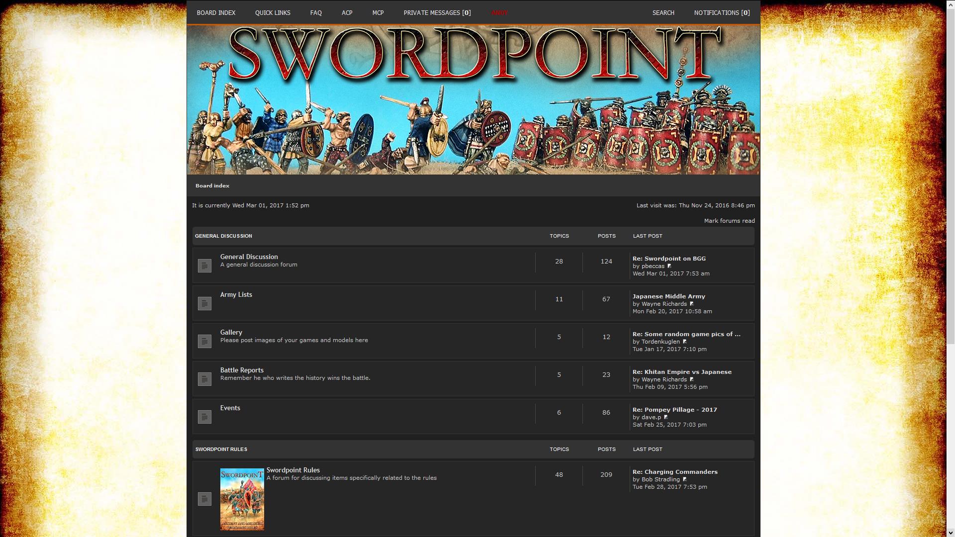 Swordpoint Forum
