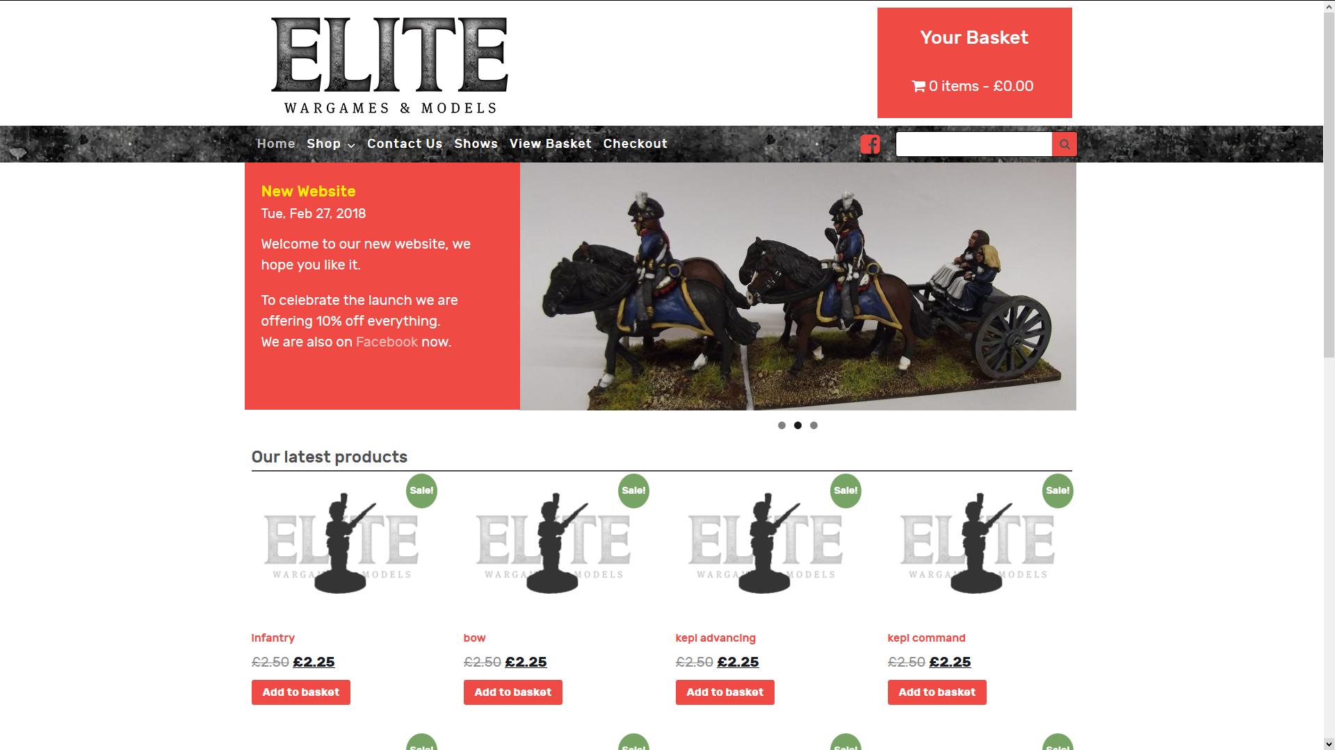 Elite Wargames and Models