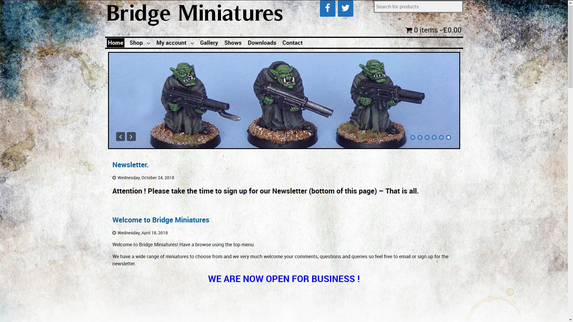 Bridge Miniatures