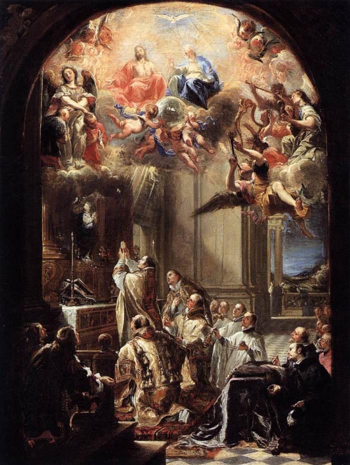 """Misa sv. Ivana od Mathe"", Juan Carreño de Miranda (1666.)"