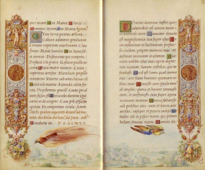 """""""Časoslov Farnese"""" s minijaturama Julija Klovića. Naš renesansni majstor brižljivo ga je oslikavao punih devet godina (1537. - 1546.)"""