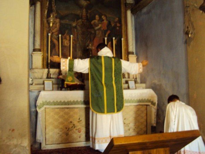 Tradicionalna Misa po drevnom dominikanskom obredu u dubrovačkoj crkvi sv. Nikole.