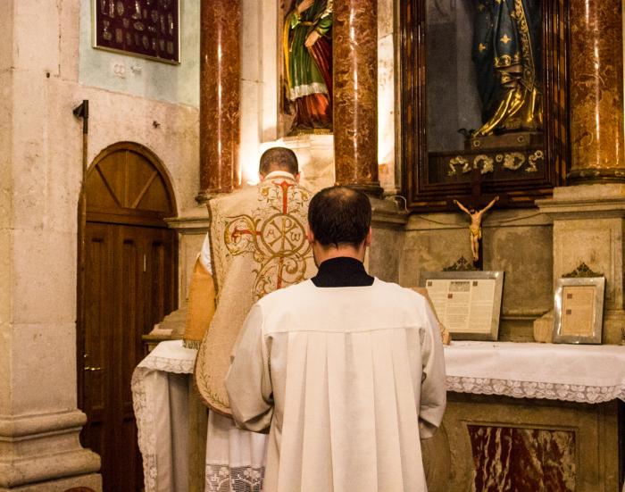 Tradicionalna Misa u splitskoj crkvi sv. Filipa Nerija.