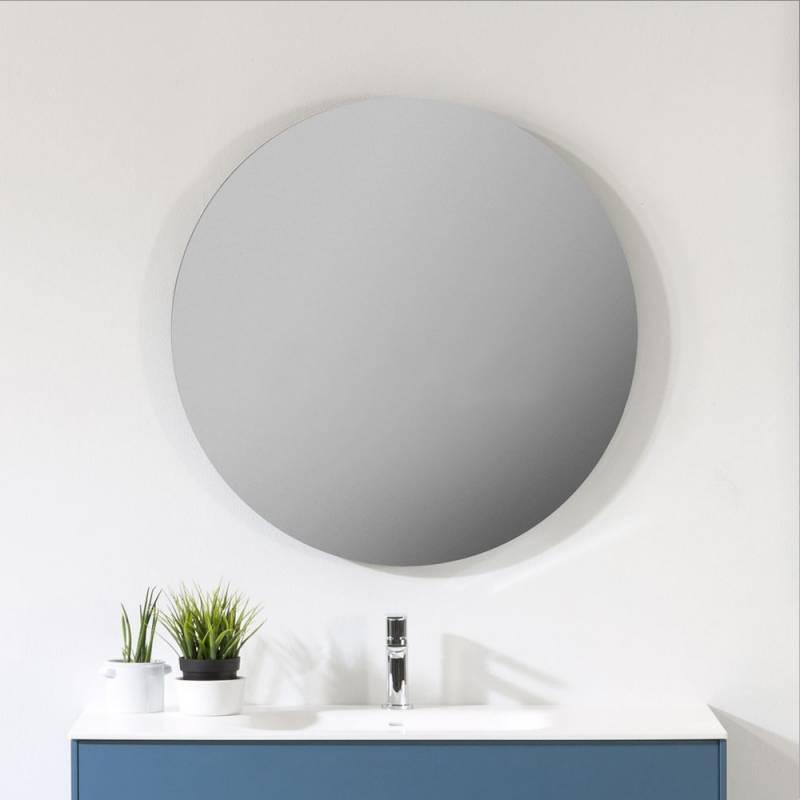 Miroir Oval Salle De Bain Sans Eclairage Ot1