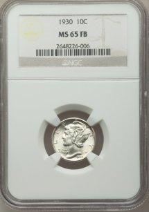 1930 10C MS 65 Full Bands1