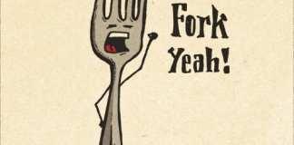 fork funny