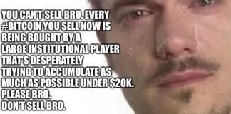 Toto je neprůstřelný argument, proč nesmíš prodávat BTC