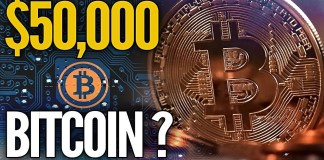 Bitcoin útočí na 50 000 $