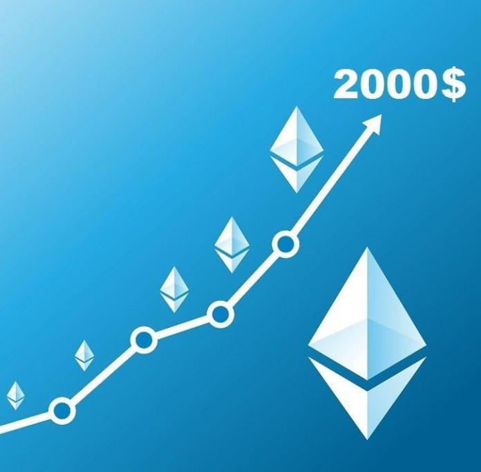 Ethereum překonalo 2000 $ - Jaké milníky ho teď čekají? Odpověď dá fibo extension