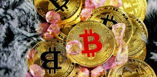 bitcoin BTC kryptoměny coin mince