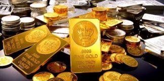 zlato gold komodity unce