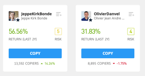 Who to copy etoro