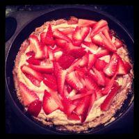 Strawberry Tart {Gluten Free, Raw & Paleo}
