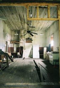 Pre-restoration, after Hurricane Katrina