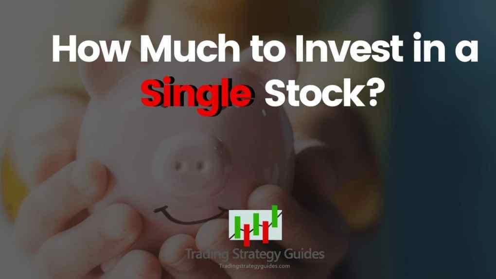 single stock trading strategy