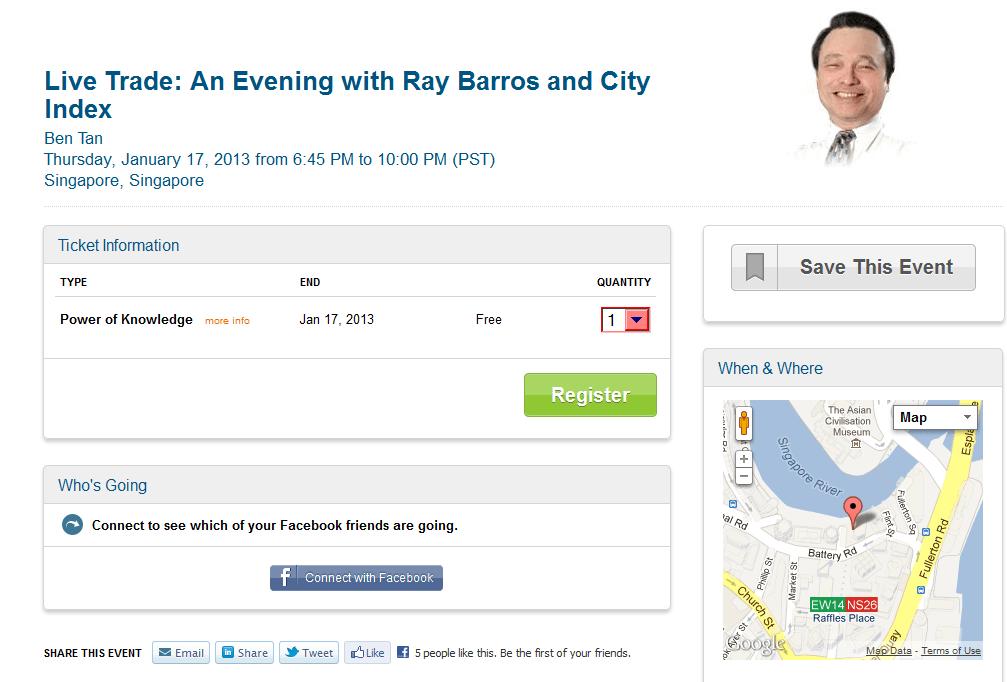 CityIndex event