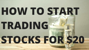 How to start trading for less than $20