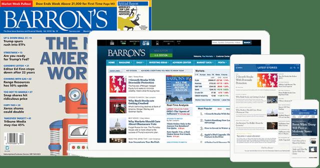 Barrons Magazine
