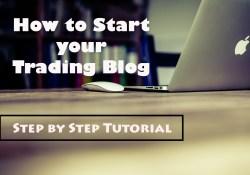 Start your Trading Blog