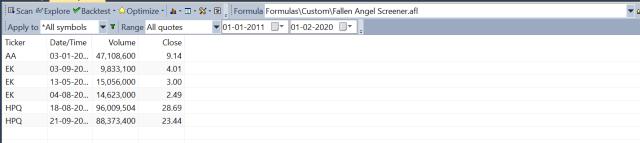 Fallen Angel Scanner AFL Exploration Screenshot