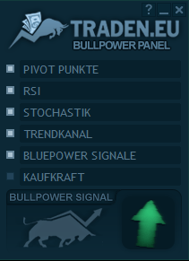 Panel im Bullpower Template Test