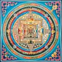 Mandala Kalachakra Ashtamangala
