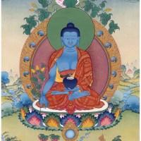 Thanka Buddha Bhaisajyaguru